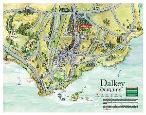 Click to view map of Dalkey Dublin Ireland