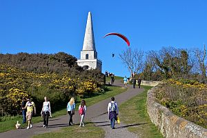 Killiney Hill Dalkey Hill the Obelisk