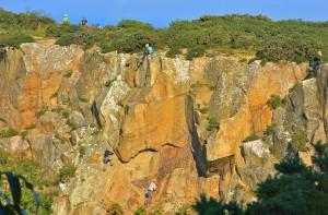 Rock Climbing Dalkey Dublin Ireland